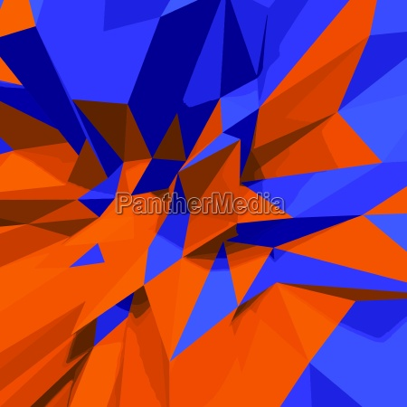 abstract vector 3d low polygon background