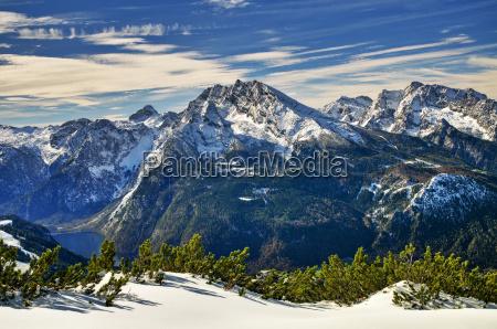 berchtesgaden gipfel gipfelkreuz nationalpark berchtesgaden kehlstein