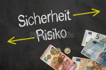 tafel mit geld sicherheit und