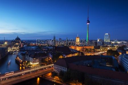 berlin mitte evening