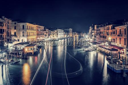 venice city at night
