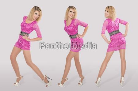 pinkfarbebe drillinge