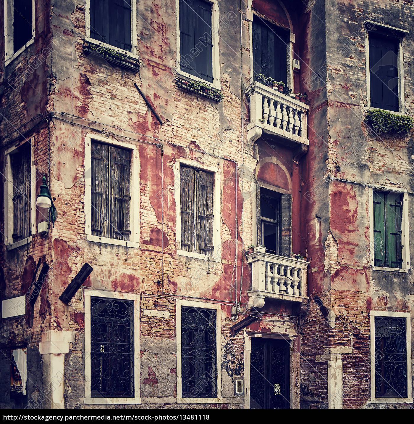 zusammenfassung, grunge, alten, mauer, hintergrund - 13481118