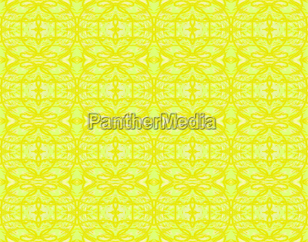 background abstract endless pattern yellow green