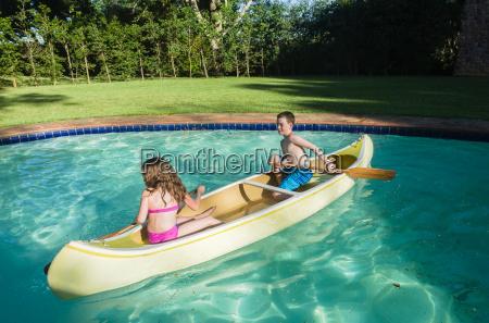 kinder kanu pool