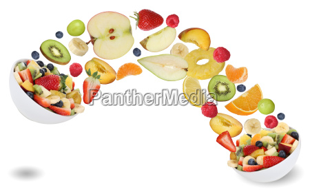 healthy eating fruit salad with fruits