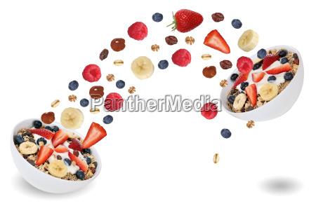 flying fruit for fruit cereal for