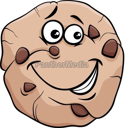 cookie cartoon illustration