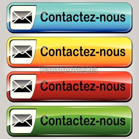 kontaktieren sie uns web butttons