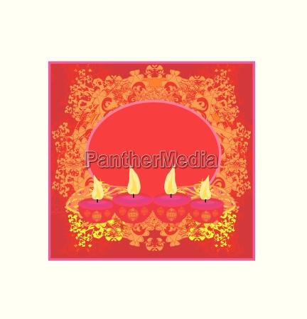 abstract diwali celebration background vector illustration