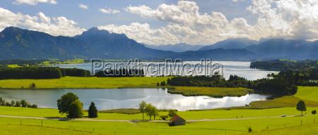 paisaje panoramico en baviera