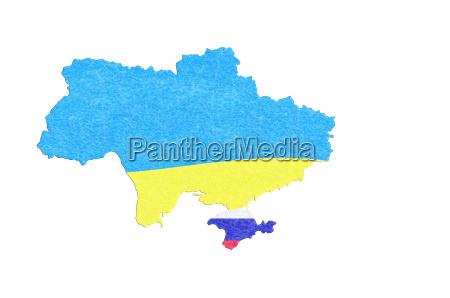 landkarte der ukraine