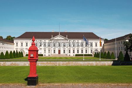 schloss bellevue berlin deutschland castel