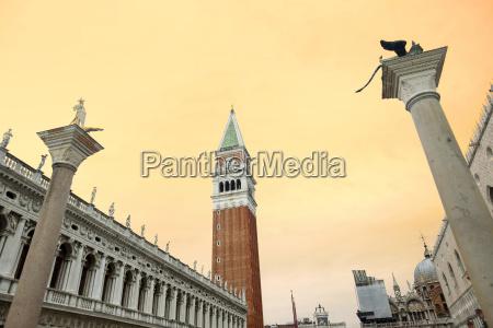 columns of san marco and san