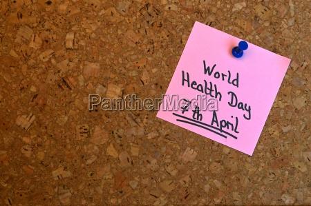 memo world health day