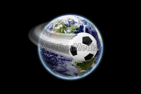 weltfussball earth texture by nasagov