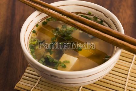 japanische miso suppe