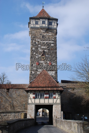tower 91541 rothenburg ob der tauber