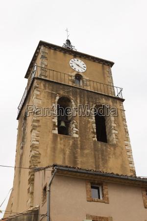 turm kirche frankreich glocke gotteshaus glockenturm
