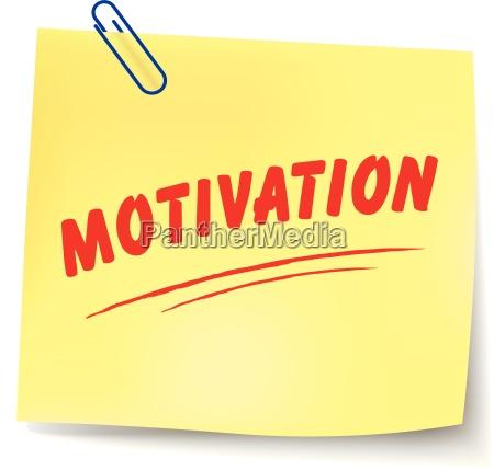 motivationshinweis