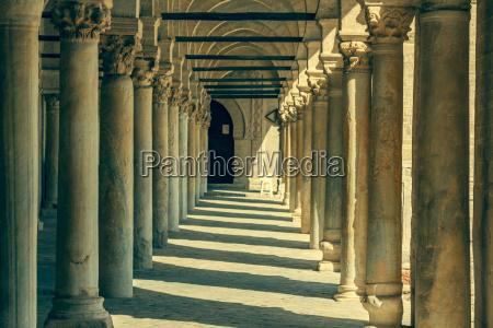 die grosse moschee von kairouan tunesien