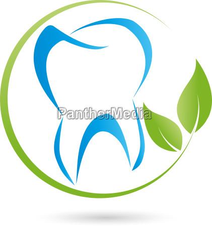 logo gear music dentist logo