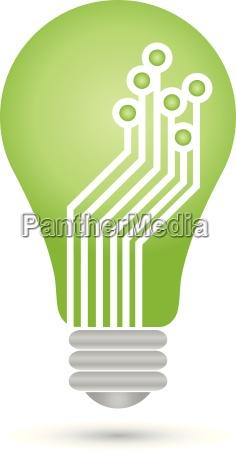 logo lampe chip platine it
