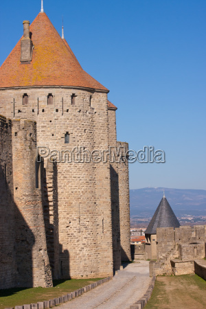 wall of carcassonne