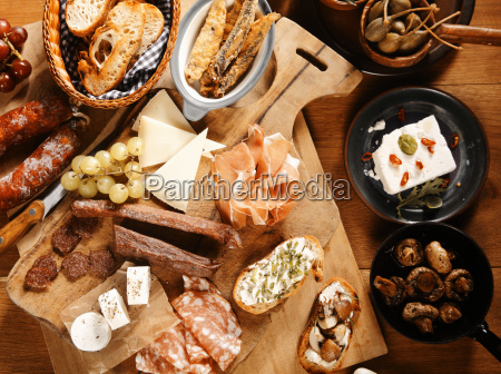 close up assorted mouth giessen tapas