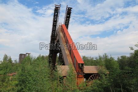 denkmal monument industrie riese stahlbau kohle