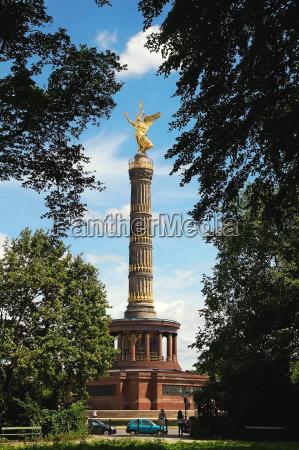 siegessaeule deutschland berlin siegessaeule deutschland