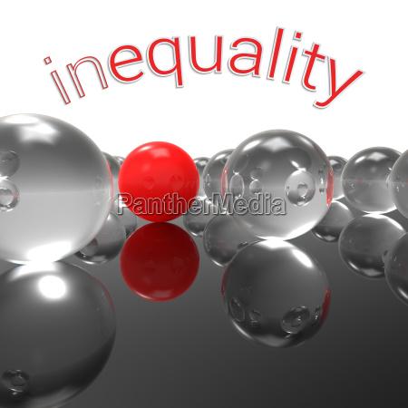ungleichheit