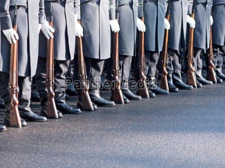 bundeswehrsoldaten des wachregiments