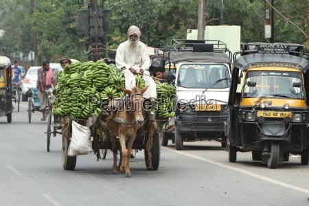 verkehrschaos in indien