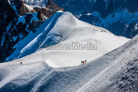mont blanc chamonix franzoesisch alpen frankreich