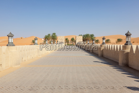 desert resort in the emirate of