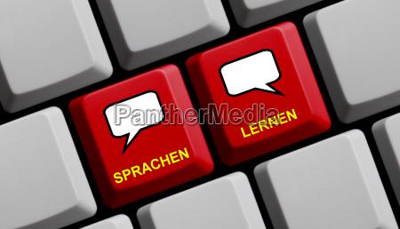 computer tastatur sprachen lernen