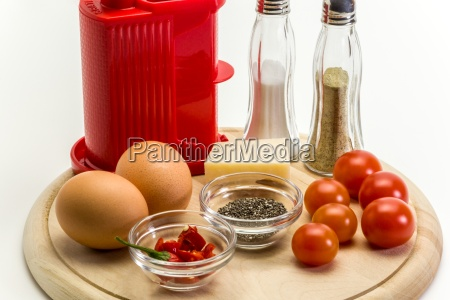 chia omelett zutaten 1