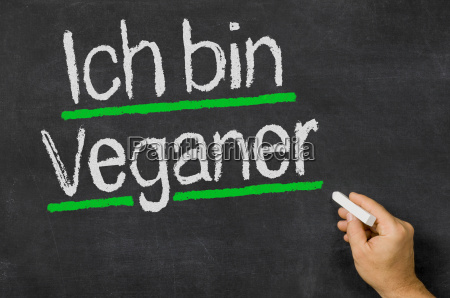 ich bin veganer