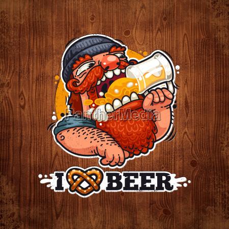 man liebt bier