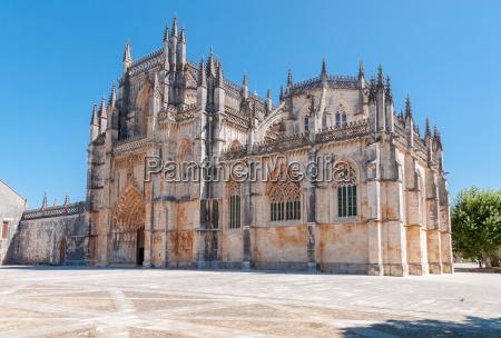 kloster von batalha in portugal