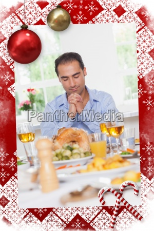 man gebet vor dem essen