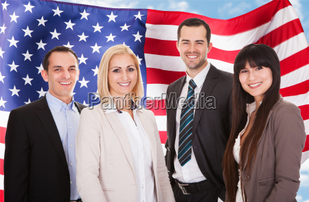 portrait of business gruppe