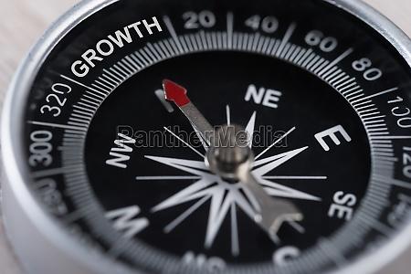 kompass der wachstum ankuriert