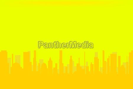 turm bauten stadt staedtisch wolkenkratzer gelb