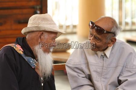 senioren in indien
