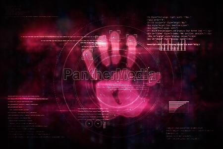 pink technologie handdruck autorisierung