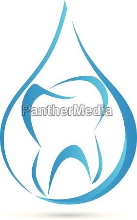 zahn tropfen logo arzt logo