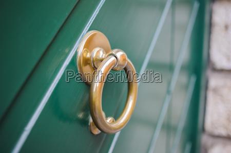ring objekt gegenstand tuer verzierung dekoration