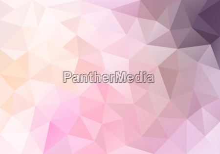 abstract pastel pink poly background